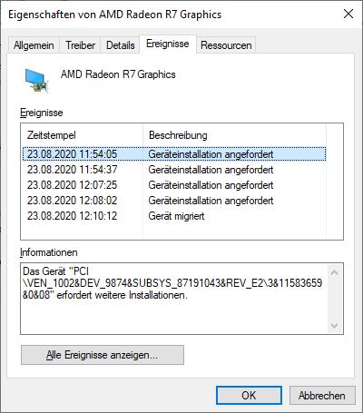 Windows 10 Facetten Bild beim Hochfahren