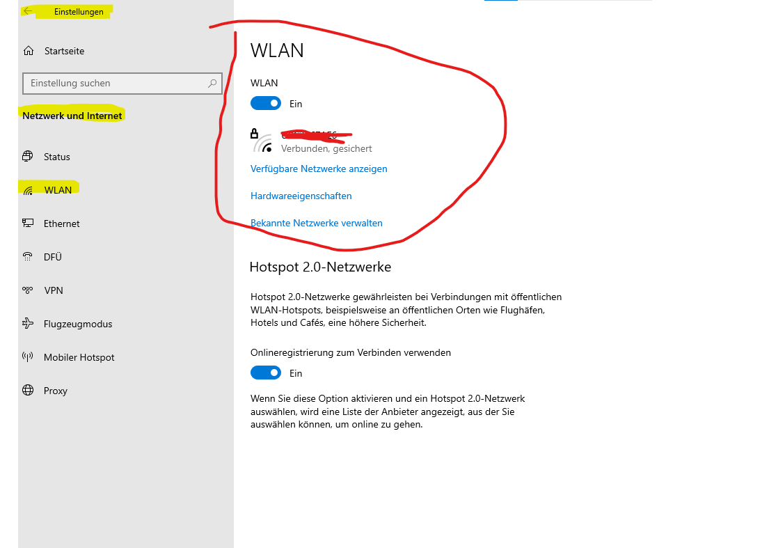 Wie bei Windows 10 mit dem Internet verbinden?