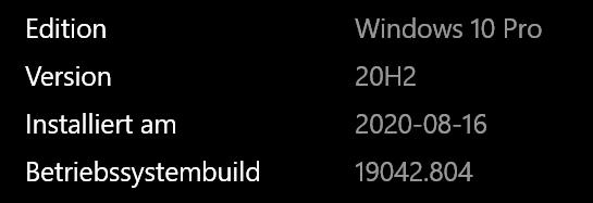 Win 10 pro 1903/Taskleiste/Schriftfarbe ändern