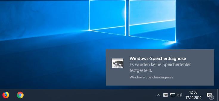 Windows 10 Arbeitsspeicher